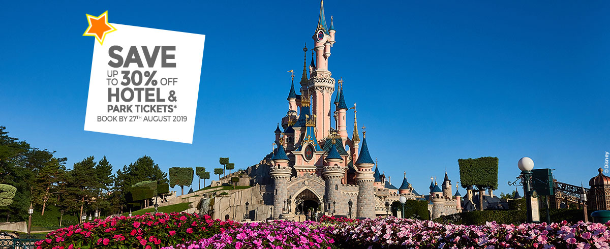 20% off + Free Half-board Meal Plan, Disneyland Paris